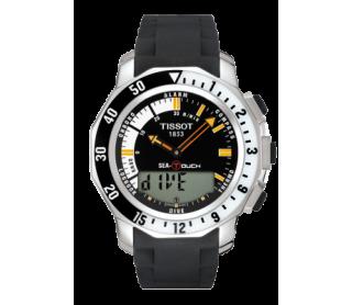 Reloj SEA TOUCH negro