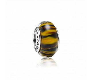Charm Cristal de Murano Tigre