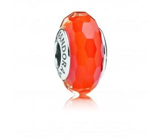 Charm cristal de Murano facetado Puesta de sol