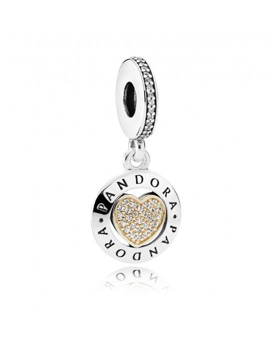 Charm Corazón Logo Pandora