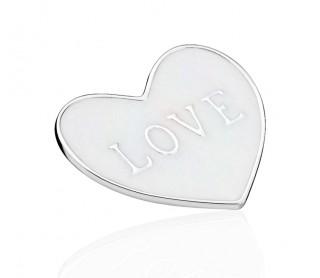 Plate Corazón Amor Grande