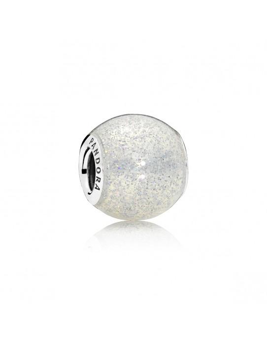 Charm Esfera de Plata Brillante