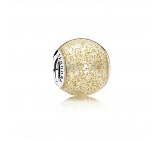 Charm Esfera de Oro Brillante