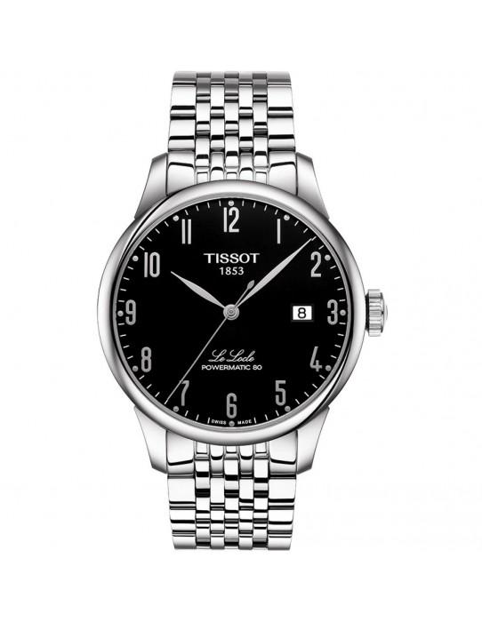 Reloj Tissot Le Locle Powermatic 80 Acero/Negro