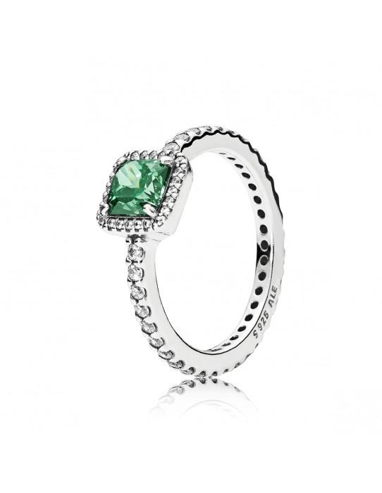 Sortija Elegancia Atemporal Verde