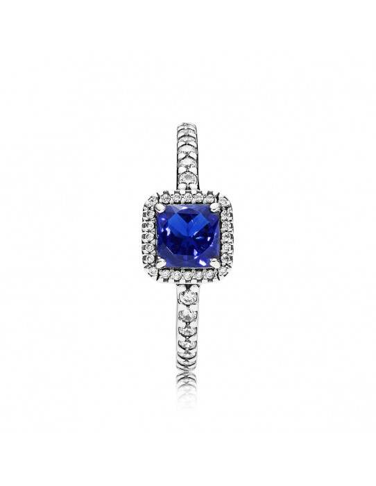 Sortija Elegancia Atemporal Azul