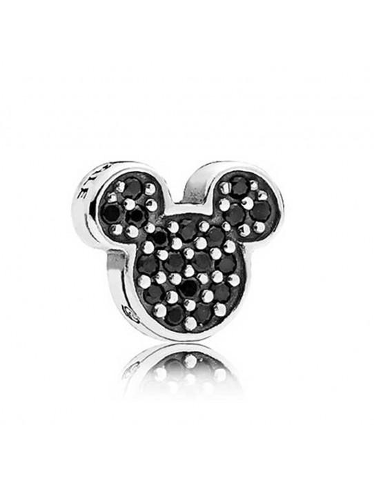 Petite en plata de ley Icono Mickey Brillante