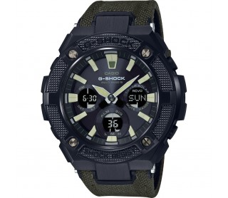 Casio G-Shock Steel verde y negro