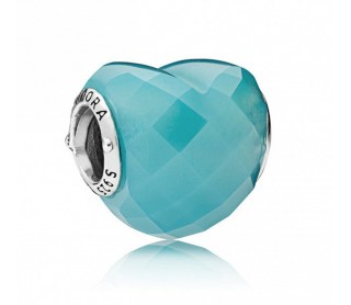 Charm Forma de Amor Azul