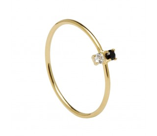 Anillo Carbon Gold AN01-106