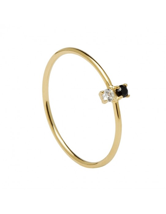 Anillo Carbon Gold AN01-106