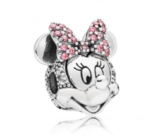 Charm Retrato Brillante de Minnie 797496CZS