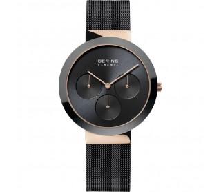 Reloj Bering negro y Rosa 35036-166