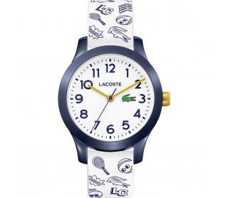 Reloj Lacoste blanco y azul 2030011