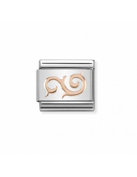 Link Colección Simbolos Oro rosa 430104 21