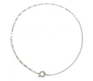 Collar Mirage Silver CO02-082-U