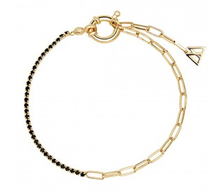Pulsera Black Mirage Gold PU01-042-U