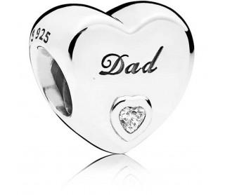Charm Amor de Padre 796458CZ