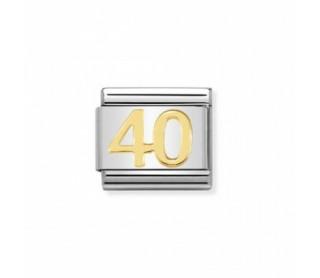 Link Simbolo 40 Años Acero y Oro 030109 41