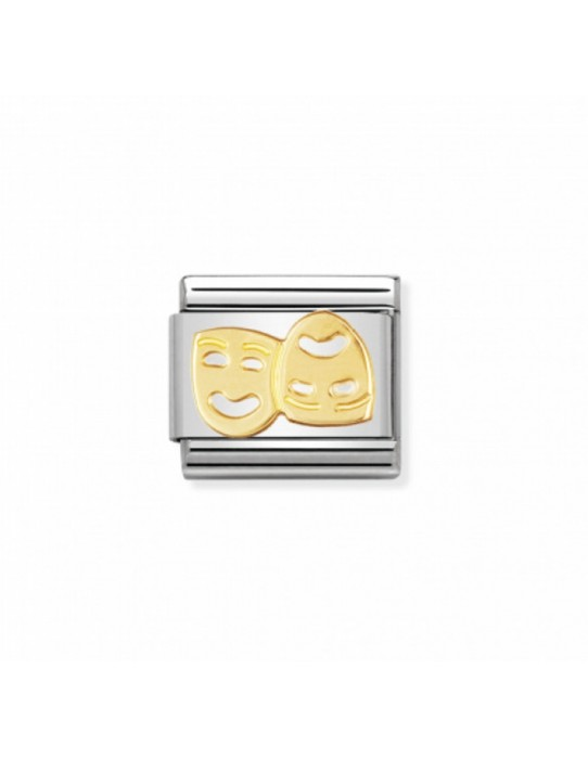 Link Mascaras Teatrales Acero y Oro 030110 01