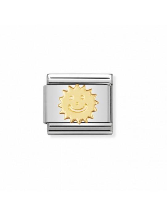 Link Sol Acero y Oro 030110 02
