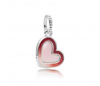 Charm Colgante Corazón de Amor Asimétrico 797820ENMX