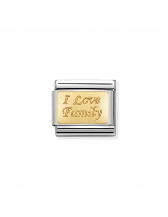 "Link Acero y Oro ""I LOVE FAMILY"" 030121 33"