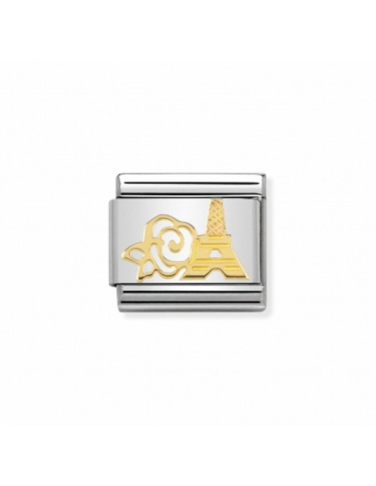Link Acero y Oro Torre Eifell 030162 18
