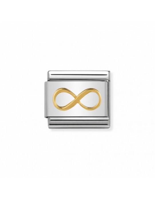 Link Acero y Oro Infinito 030162 41