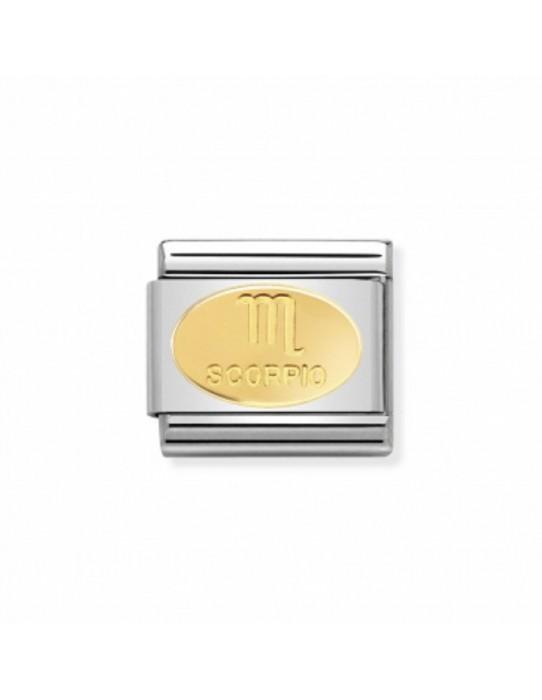 Link Acero y Oro Simbolo Escorpio 030165 08