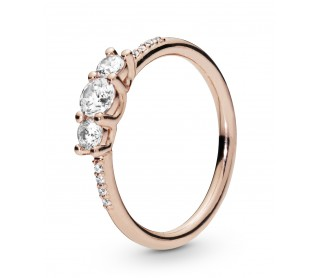 Anillo Elegancia Brillante Rose 186242CZ