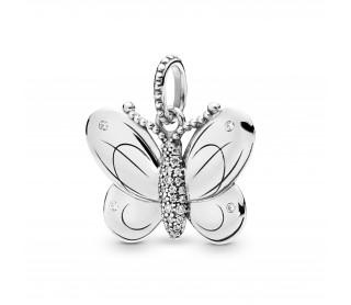Colgante Mariposa decorativa 397933CZ