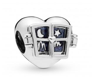 Charm Corazón con ventana 798006EN63