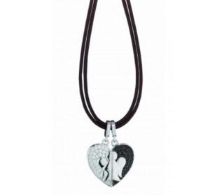 Colgante Corazón Compartido GIA124