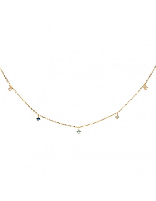 Collar Navy Gold CO01-095-U