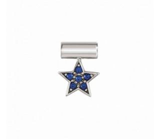 Colgante con Estrella Azul...