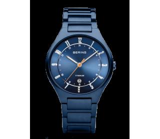 Reloj Bering Titanio Azul...
